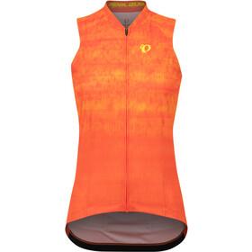 PEARL iZUMi Attack Koszulka z długim rękawem Kobiety, pomarańczowy